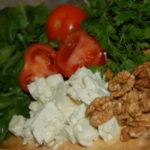 Salata de spanac cu branza si nuci