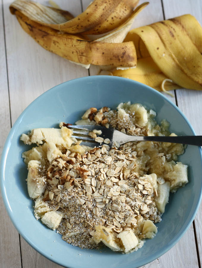 Fursecuri de ovaz cu banane