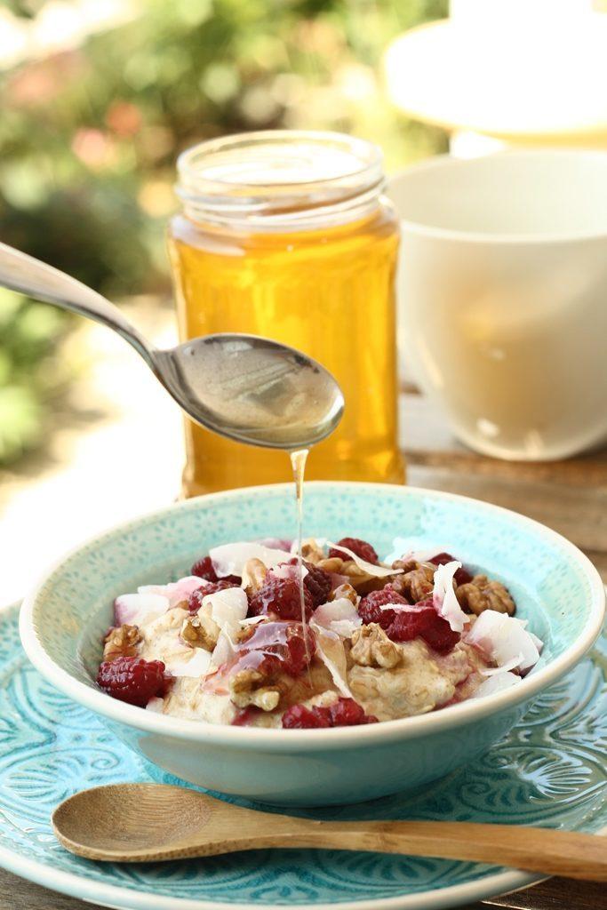 porridge cu zmeura si nuci (3)
