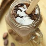 Smoothie de cocos si cacao