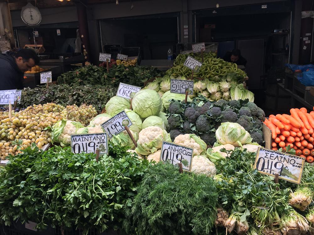 piata centrala atena legume