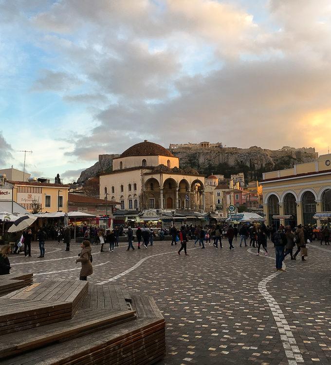 Cu bazaarul in vacanta: Atena – partea a doua