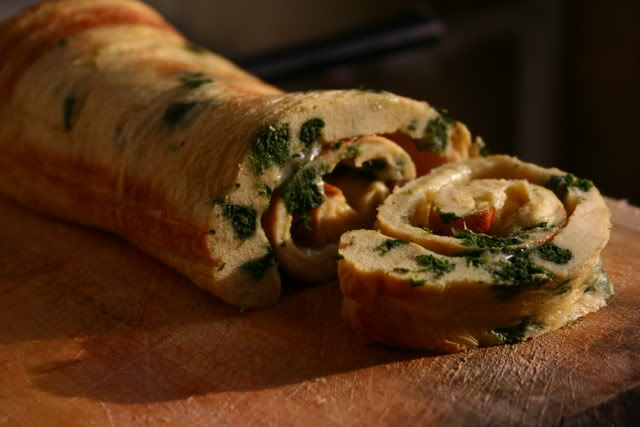 Rulada de…omleta