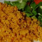 Pilaf pufos de quinoa