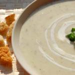 Supa crema de praz si cartofi noi