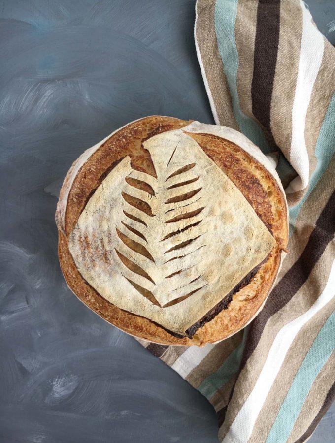 Paine alba cu maia – cea mai simpla reteta